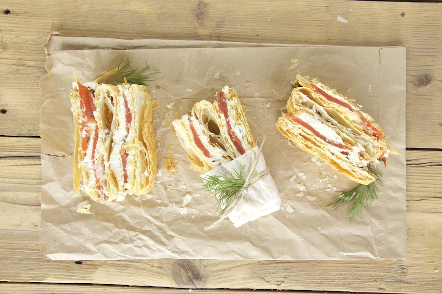 Mille Feuille Lachs