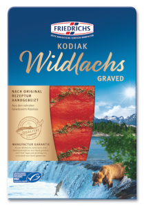 Kodiak Wildlachs graved